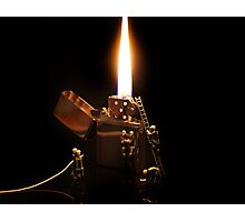 The Great Fire of Zippo Photographic Print