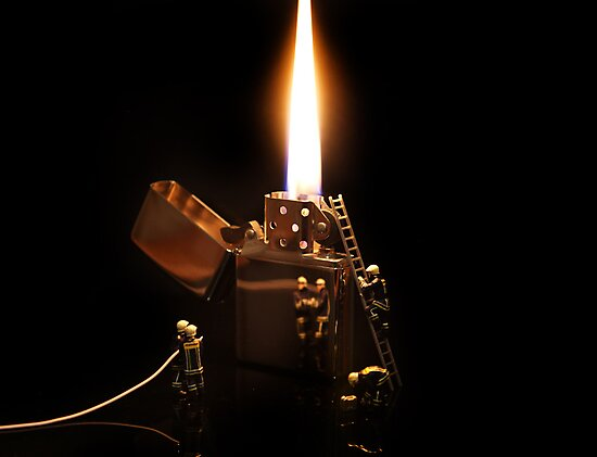 The Great Fire of Zippo by Dezzy12345