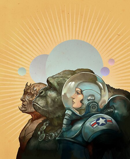 Heroes of the Solar System by Jon Hodgson