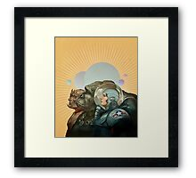Heroes of the Solar System Framed Print