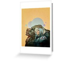 Heroes of the Solar System Greeting Card