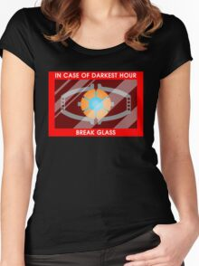 Emergency matrix Women's Fitted Scoop T-Shirt