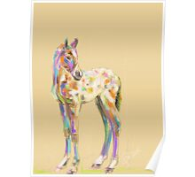 Foal paint Poster