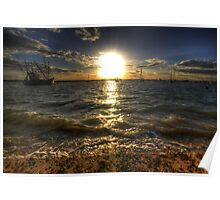 West Mersea Sunset Poster