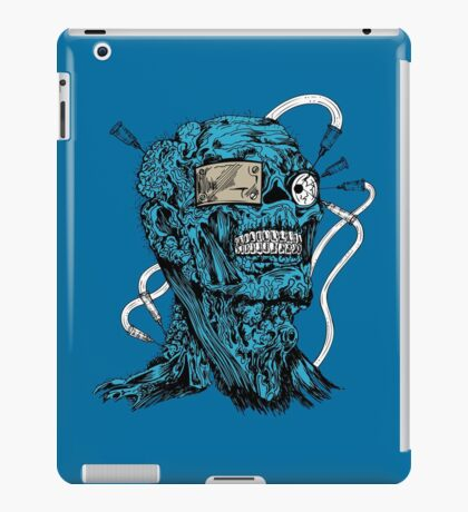 Drugs Skull off blue iPad Case/Skin