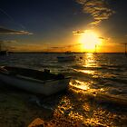 West Mersea Sunset by Nigel Bangert