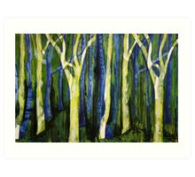 Woodlands Art Print