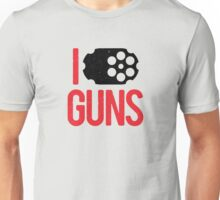 I heart Guns Unisex T-Shirt