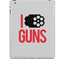 I heart Guns iPad Case/Skin