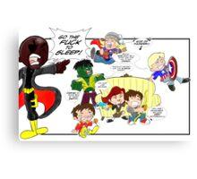 Chibi Avengers Canvas Print