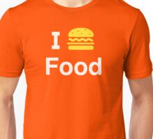 I heart Food Unisex T-Shirt