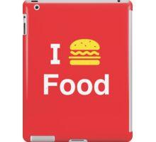 I heart Food iPad Case/Skin