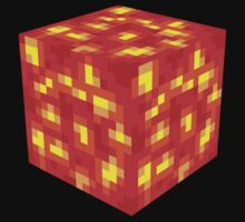 Minecraft Lava Block by ReverendBJ