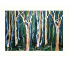 Woodlands Three Art Print