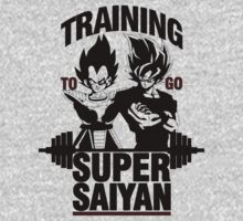 Training to go Super Saiyan by Timmyb0y