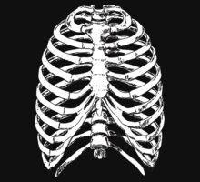 Human Anatomy: Rib Cage Kids Tee