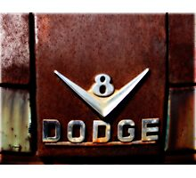 1956 Dodge V8 Photographic Print