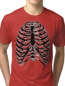 Human Anatomy: Rib Cage v2 Tri-blend T-Shirt