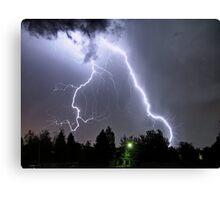 big lightning Canvas Print