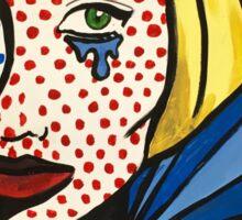 Lichtenstein's Muslimah Sticker