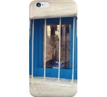 blue window in bodrum iPhone Case/Skin