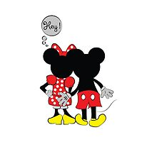 Naughty Miceky & Minnie Mouse Case by adrianp
