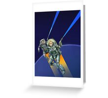 Rocket Age Greeting Card