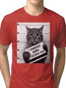 This would be My Cat Tri-blend T-Shirt