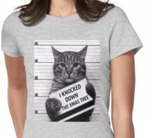 This would be My Cat Womens Fitted T-Shirt