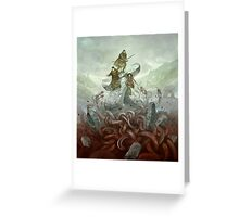 Dragon Warriors Players Book Greeting Card