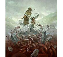 Dragon Warriors Players Book Photographic Print