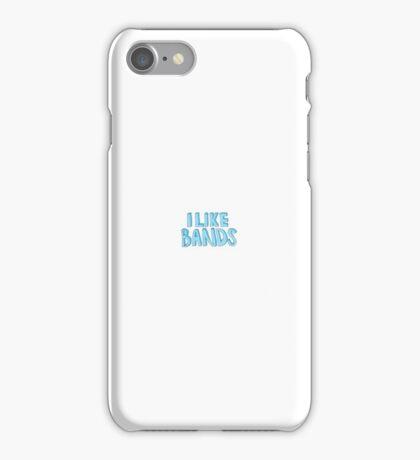 I like bands iPhone Case/Skin