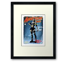 Adventure Stories The Dream Warriors of the Asylum Framed Print