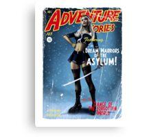 Adventure Stories The Dream Warriors of the Asylum Canvas Print