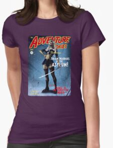 Adventure Stories The Dream Warriors of the Asylum Womens Fitted T-Shirt