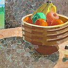 """Still life with Papa's bowl"" by Richard Robinson"