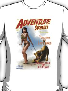 Adventure Stories The Girl from the Lost World T-Shirt