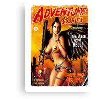 Adventure Stories the Iron Angel from Hell Canvas Print