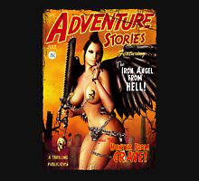 Adventure Stories the Iron Angel from Hell Unisex T-Shirt