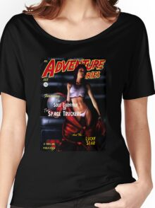 Adventure Stories the Sole Survivor of the Space Truckers Women's Relaxed Fit T-Shirt