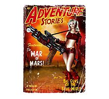 Adventure Stories The War of Mars Photographic Print