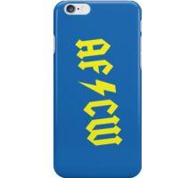 AFC Wimbledon Football / Soccor ACDC Style Phone Case iPhone Case/Skin