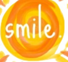 'Smile' Sunshine Sticker