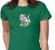 Jack : Jack Russel Terrier x Staffy Womens Fitted T-Shirt