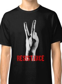 Resistance Two Fingers Classic T-Shirt