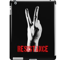 Resistance Two Fingers iPad Case/Skin