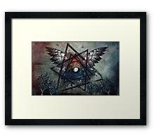 Illuminati Symbolism Framed Print