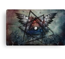 Illuminati Symbolism Canvas Print