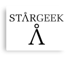 StarGEEK Metal Print