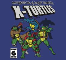 X-Turtles, Mutants in a half shell (Colab with RPAdame) by LgndryPhoenix
